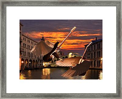 Bad Romance Framed Print by Eric Kempson