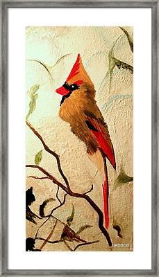 Badbird Framed Print