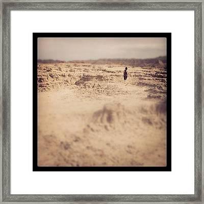 Badlands Framed Print