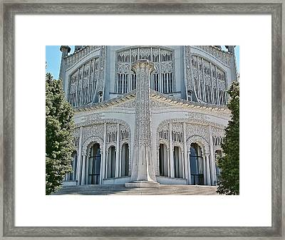 Bahai Temple Wilmette Framed Print by Rudy Umans