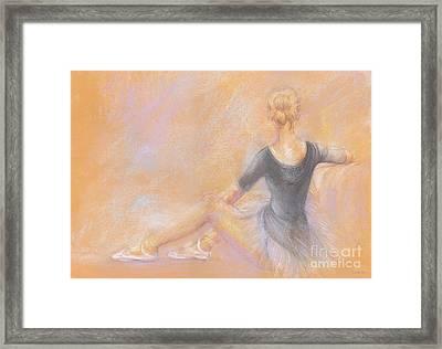 Ballerina Framed Print by Jovica Kostic