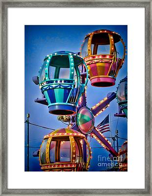 Balloon Ride No. 5 Framed Print by Colleen Kammerer