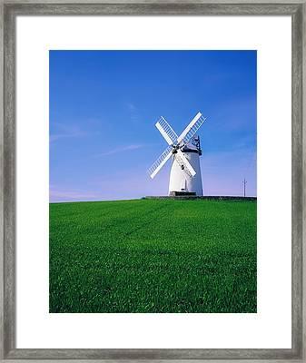 Ballycopeland Windmill, Millisle Framed Print