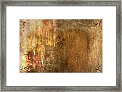 Bamboo Framed Print by Christopher Gaston