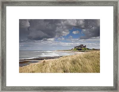 Bamburgh Castle Northumberland, England Framed Print by John Short