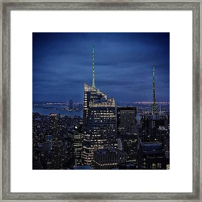 Bank Of America Tower - Ny Framed Print