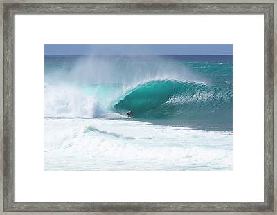 Banzai Pipeline Pro Framed Print by Kevin Smith