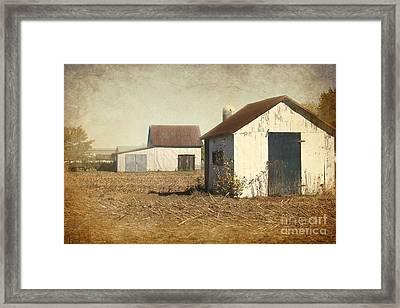 Barns Framed Print by Sophie Vigneault