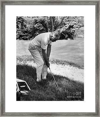 Barry Goldwater (1909-1998) Framed Print