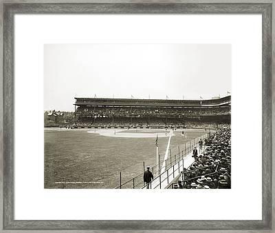 Baseball Game, C1912 Framed Print by Granger