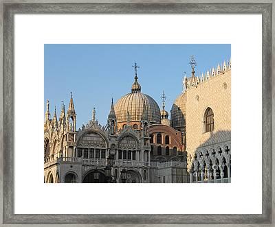 Basilica San Marco Framed Print
