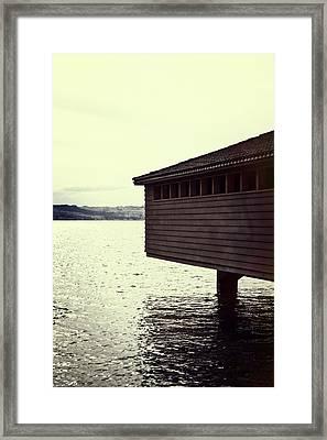 Bath House Framed Print by Joana Kruse