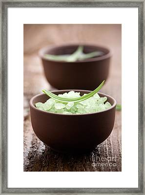 Bath Salt Framed Print by Kati Molin