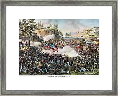 Battle Of Chickamauga 1863 Framed Print by Granger