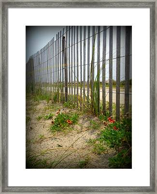 Beach Framed Print by Angela Partridge