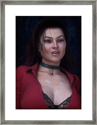 Beautiful Portrait Framed Print