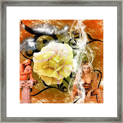 Framed Print featuring the photograph Beauty by Clayton Bruster