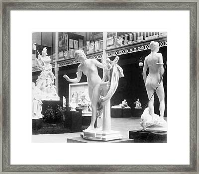 Beaux Arts Sculpture Exhibited Framed Print by Everett