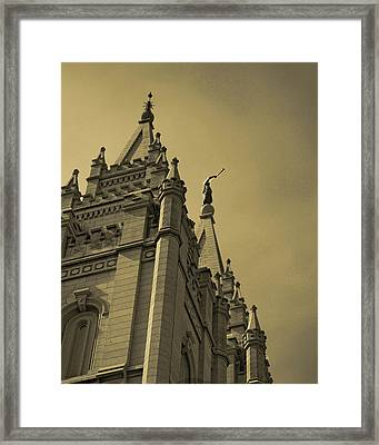 Behold I Speak Unto You  Framed Print