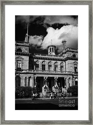 Belfast Harbour Commissioners Office Port Of Belfast Northern Ireland Uk Europe Framed Print by Joe Fox