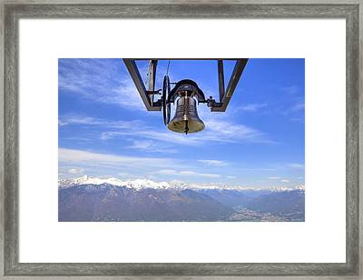 Bell In Heaven Framed Print
