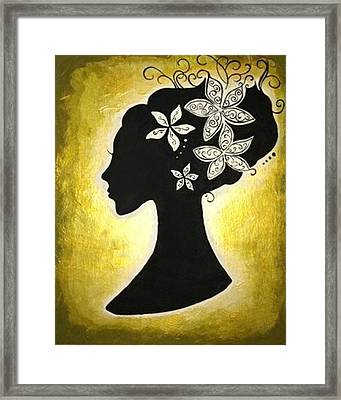 Bella Dama Framed Print by Brandy Nicole Neal