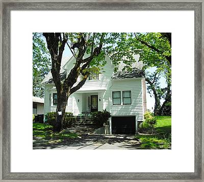 Bella Swan House Saint Helens Framed Print by Kelly Manning