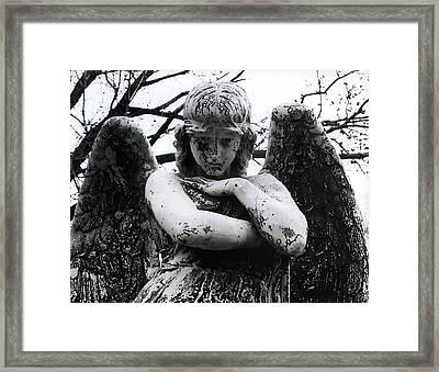 Bellefontaine Angel Framed Print by Jane Linders