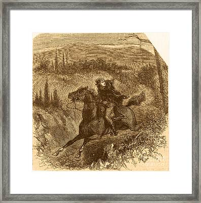 Benedict Arnold, American Traitor Framed Print by Photo Researchers