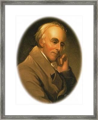 Benjamin Rush Framed Print by Science Source