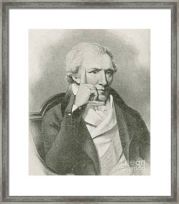 Benjamin Thompson, Anglo-american Framed Print