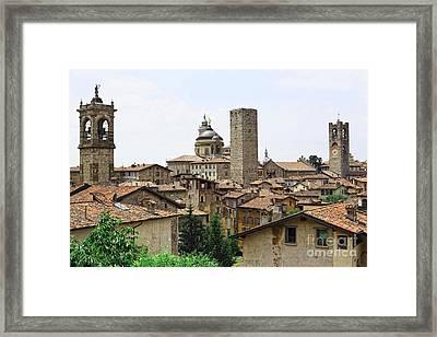 Bergamo Alta Framed Print