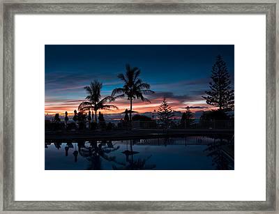 Bermuda Dawn Framed Print by Michael Braxenthaler
