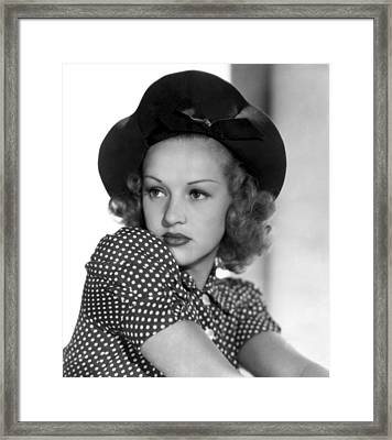 Betty Grable, Paramount Pictures, Late Framed Print by Everett
