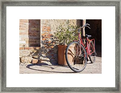 Bicycle Framed Print by Jeremy Woodhouse