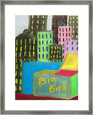 Big Bird Framed Print