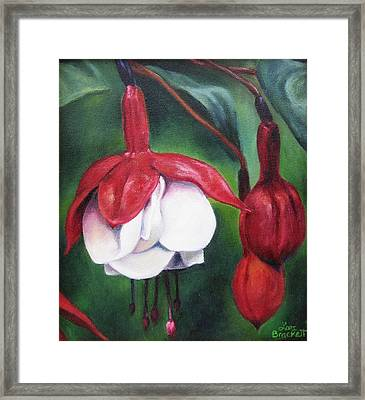 Framed Print featuring the painting Big Bold And Beautiful by Lori Brackett