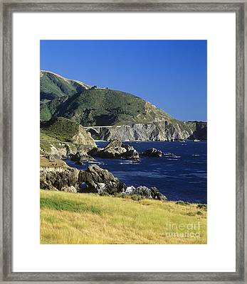 Big-sur-t1-3 Framed Print by Craig Lovell