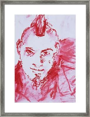 Bite Framed Print by Iris Gill