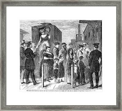 Blackwells Island, 1868 Framed Print by Granger