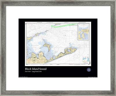 Block Island Sound Framed Print by Adelaide Images