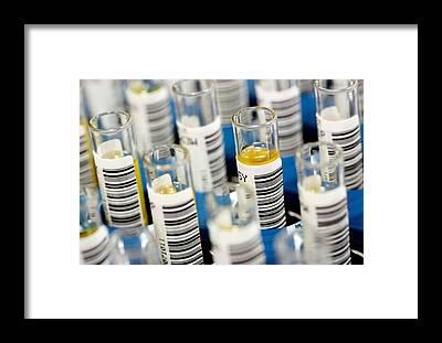 Testtube Framed Prints