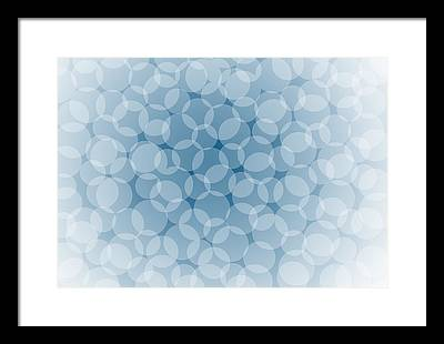Transparency Geometric Framed Prints