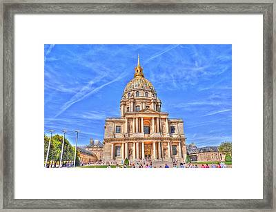 Blue Skies Framed Print by Barry R Jones Jr