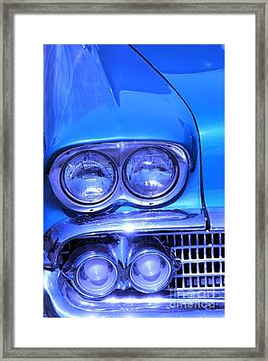 Blue  Framed Print by Sophie Vigneault