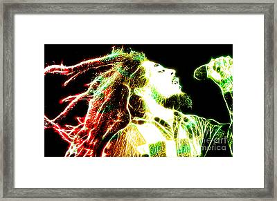 Bob Marley Framed Print by The DigArtisT