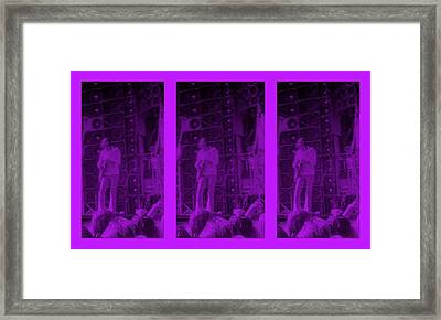 Bob Weir Grateful Dead  Dsm Ia Framed Print