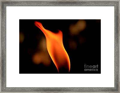 Body Of Fire 2 Framed Print by Arie Arik Chen