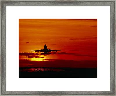 Boeing 747 Framed Print by David Nunuk