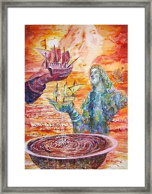 Borinquen Framed Print by Estela Robles